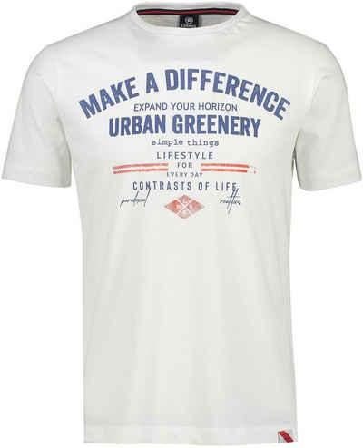 LERROS T-Shirt mit großem Frontprint
