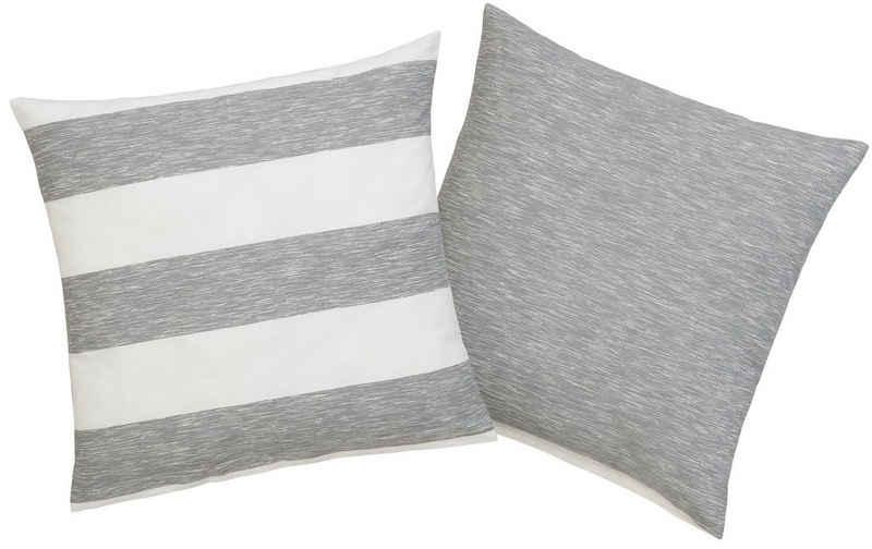 Kissenhülle »Jannis«, OTTO products (2 Stück), aus 100% Bio Baumwolle