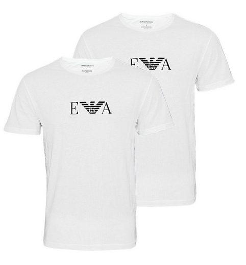 Emporio Armani T-Shirt »Rundhals mit EA-Logo« (2er-Pack)