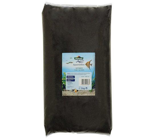 Dehner Aquarienkies »xAqua Sand, Körnung 0.4 - 1.2 mm, 5 kg, schwarz«