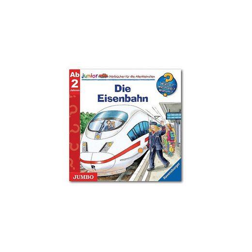 JUMBO Verlag Hörspiel »CD Wieso? Weshalb? Warum? Junior - Die Eisenbahn«