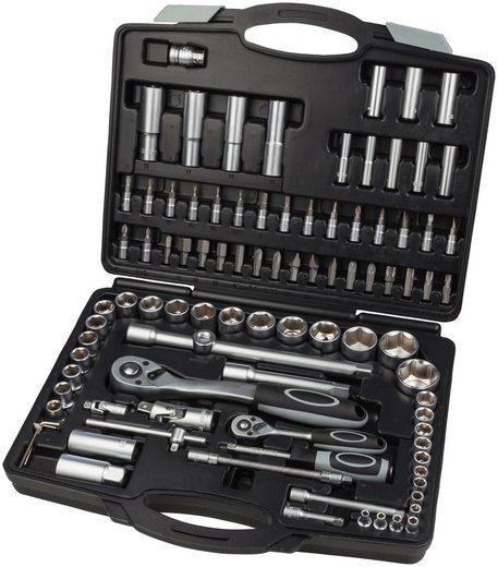 WGB BASIC PLUS Steckschlüsselsatz 94-tlg. Steckschlüssel-Garnitur, im Kunststoffkoffer