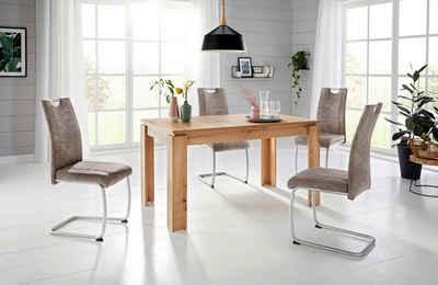 HELA Essgruppe, (Set, 5-tlg), Tisch ausziehbar 140-180 cm