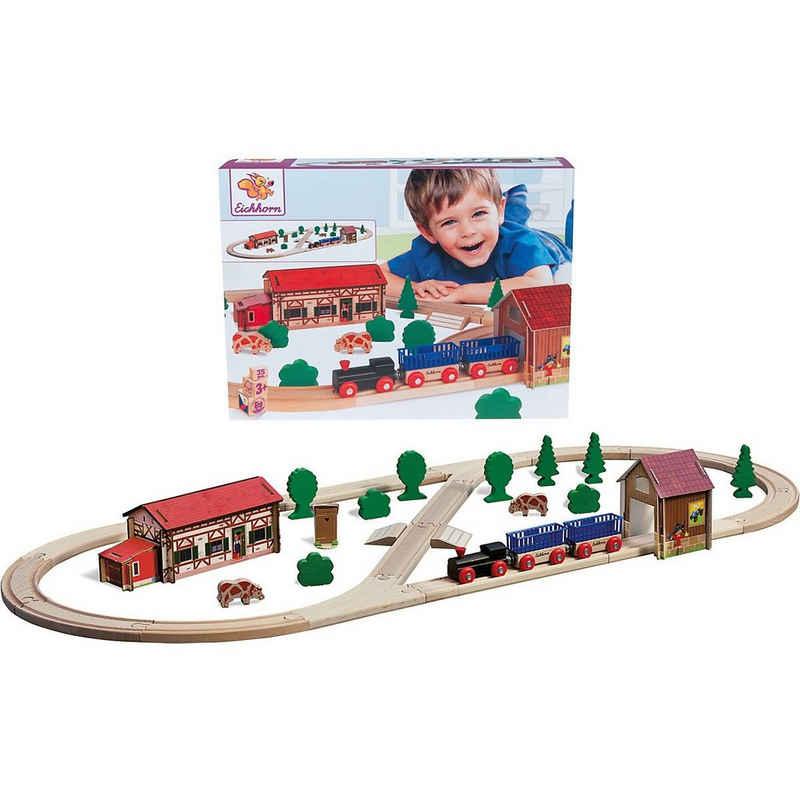 Eichhorn Spielzeugeisenbahn-Set »Bahn, Bauernhof«