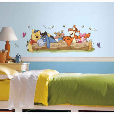 RoomMates Wandsticker »Wandsticker Winnie the Pooh & Friends, 10-tlg.«