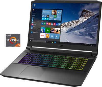 Acer AN517-41-R77U Notebook (43,94 cm/17,3 Zoll, AMD Ryzen 5, GeForce RTX 3060, 512 GB SSD)