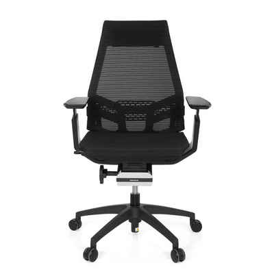 hjh OFFICE Drehstuhl »hjh OFFICE Profi Bürostuhl GENIDIA SMART BLACK«