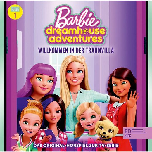 Edel Hörspiel »CD Barbie Dreamhouse Adventures 1 - Willkommen in«