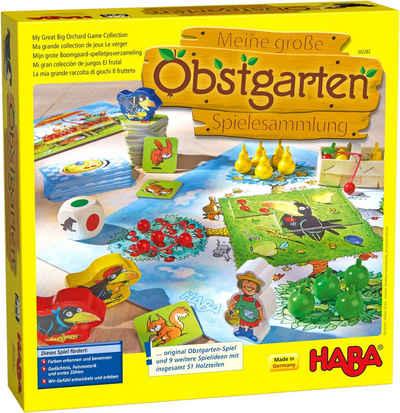 Haba Spielesammlung, »Meine große Obstgarten-Spielesammlung«, Made in Germany