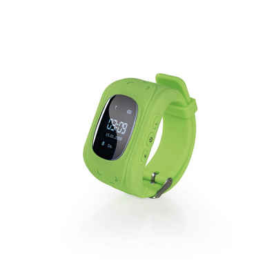 EASYmaxx Fitness-Tracker »EASYmaxx Armbanduhr Kids Smart Watch OLED in Limegreen«