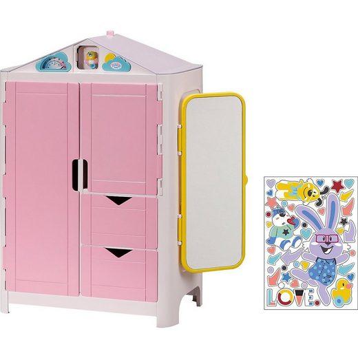 Zapf Creation® Puppenhausmöbel »BABY born® 827987 Schrank mit Wetterente«
