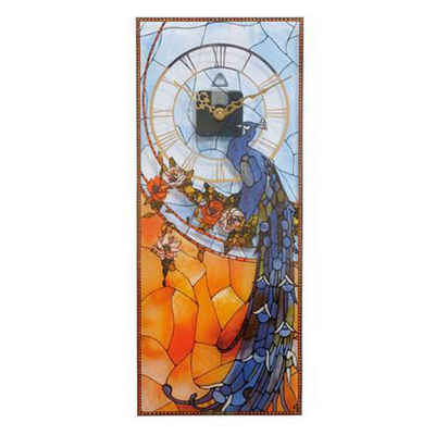 Goebel Wanduhr »Artis Orbis Louis Comfort Tiffany Pfau 67000521«