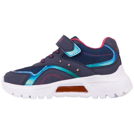 Kappa »BESS K« Sneaker mit cooler Blinkfunktion