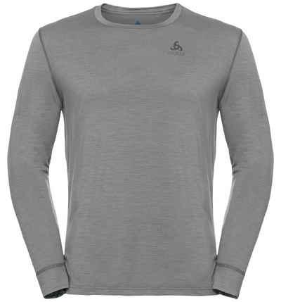 Odlo Funktionsshirt »NATURAL 100% MERINO WARM Sportunterwäsche Langarm-Shirt« (1-tlg)