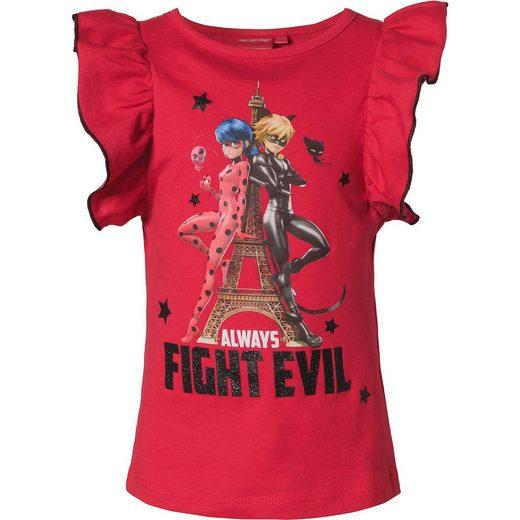 Miraculous T-Shirt mit Glitzer für Mädchen