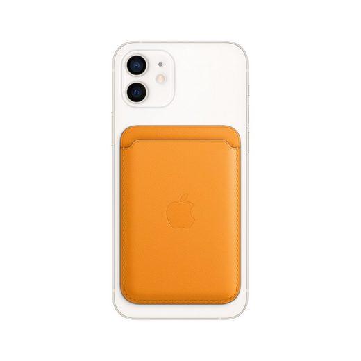 Apple Smartwatch-Hülle »Leder Wallet mit MagSafe« iPhone 12 Mini, iPhone 12 Pro, iPhone 12 Pro Max, iPhone 12
