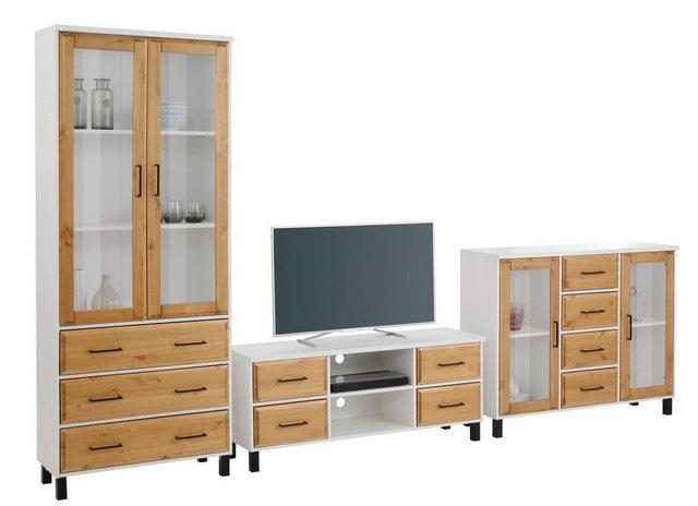 Wohnwände - Home affaire Wohnzimmer Set »Kemi«, (Set, 3 St)  - Onlineshop OTTO