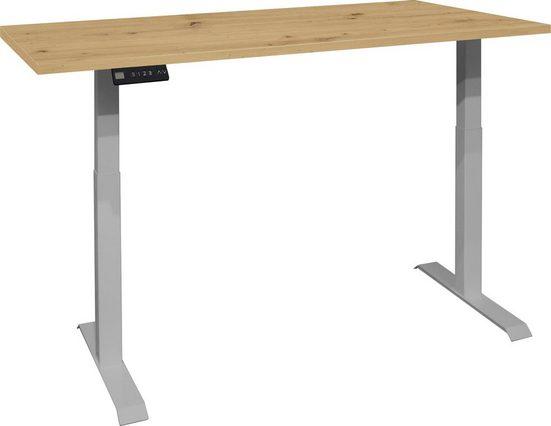 Schreibtisch »Big System Office«, Breite 160 cm, elektrisch höhenverstellbar