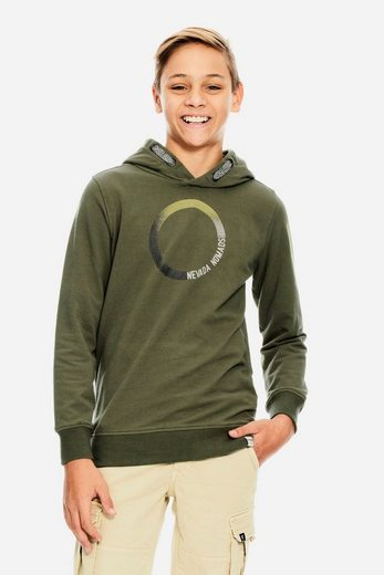 Garcia Sweater mit Textprint
