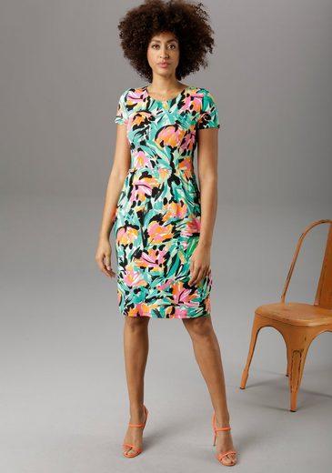 Aniston SELECTED Sommerkleid im farbenfrohen Allover-Print