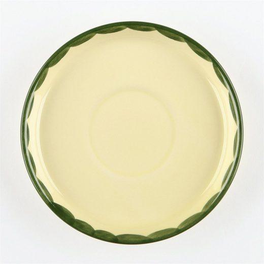 Zeller Keramik Untertasse »Kaffee-Untertasse Hahn und Henne«