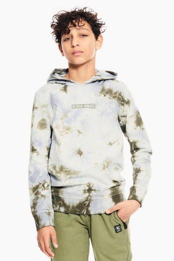 Garcia Sweater mit Batikdruck
