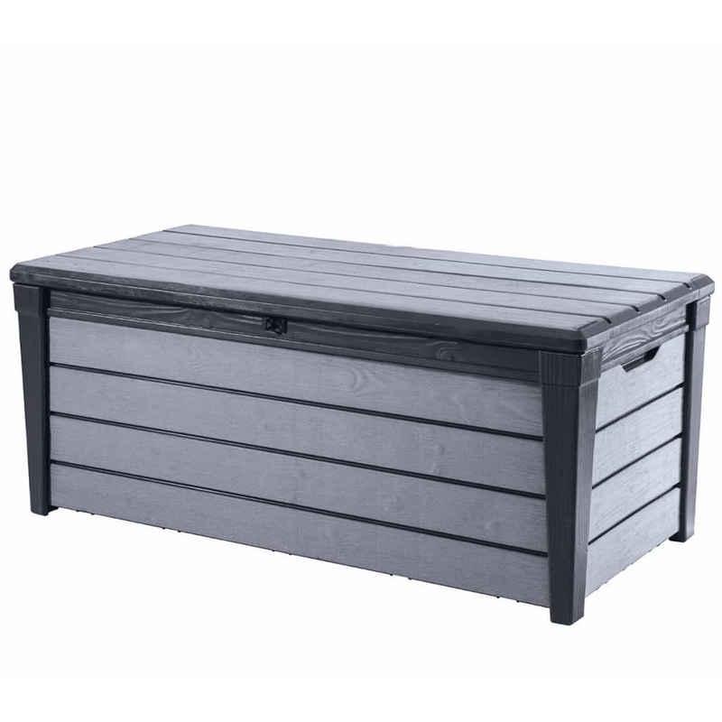 Keter Aufbewahrungsbox »Keter Garten-Aufbewahrungsbox Brushwood 455 L Anthrazit«