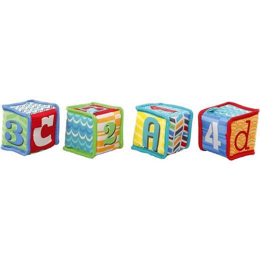 Kids II Stapelspielzeug »Bright Starts Grab & Stack Stapelwürfel«