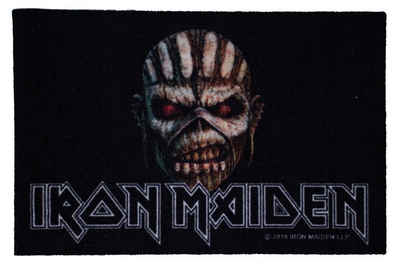 Fußmatte »Iron Maiden The Book of Souls Türmatte«, Mr. Ghorbani, Rechteckig, Höhe 3 mm