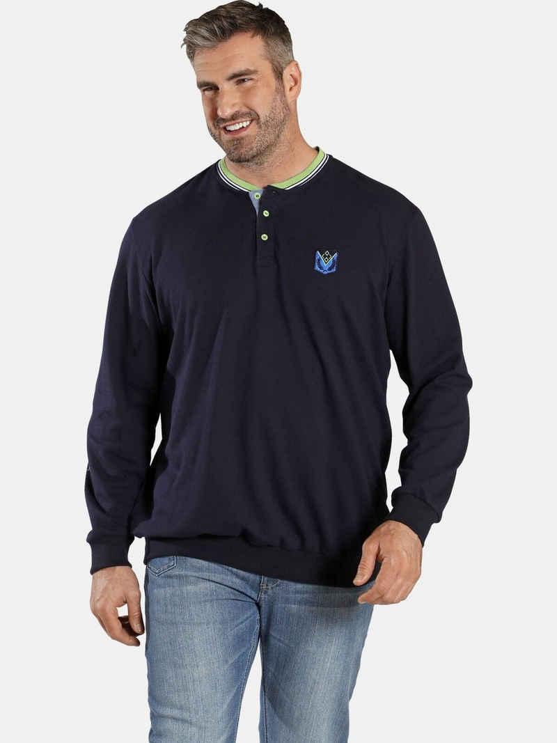Charles Colby Sweatshirt »EARL GWILYM« spezieller Bauchschnitt