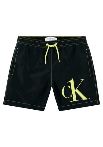 Calvin Klein Badeshorts su Kontrastdetails