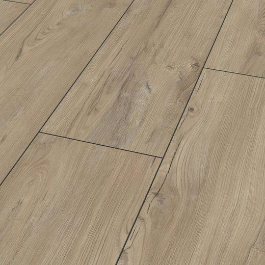 BODENMEISTER Laminat »Dielenoptik Kastanie beige rustikal«, Landhausdiele 1380 x 244 mm, Stärke: 8 mm