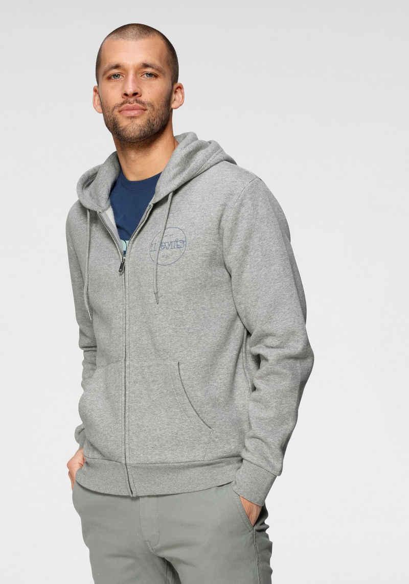 Levi's® Kapuzensweatshirt »LE T3 GRAPHIC ZIP UP« mit Logoprint