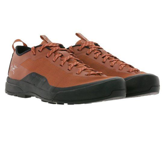 Arcteryx »ARCTERYX Wander-Schuhe leichte Damen Zustiegs-Sneaker mit Vibram-Sohle Bergsteiger-Schuhe Rot« Trekkingschuh