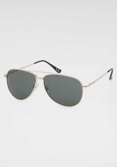 YOUNG SPIRIT LONDON Eyewear Pilotenbrille Aviator-Style, Fliegerbrille