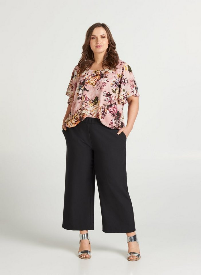 zizzi -  Culotte Große Größen Damen Hose mit Stretch und Taschen
