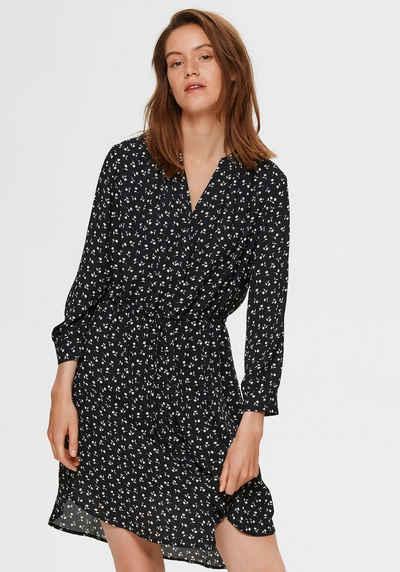 SELECTED FEMME Blusenkleid mit floralem Alloverprint