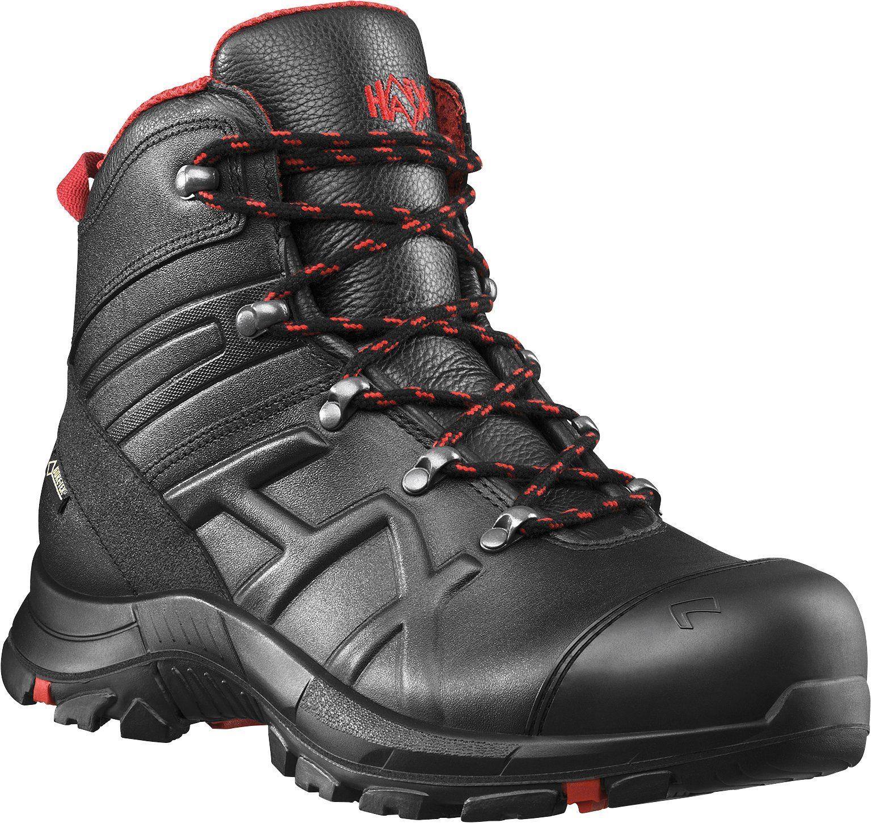 Unisex HAIX Sicherheitsstiefel »Black Eagle Safety 54 Mid«, Waterproof Leder, Innenfutter aus GORE-TEX® Extended schwarz   04044465324376