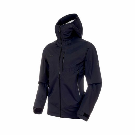 Mammut Funktionsjacke »Hardshelljacke Kento HS Hooded Jacket Men - Mammut«