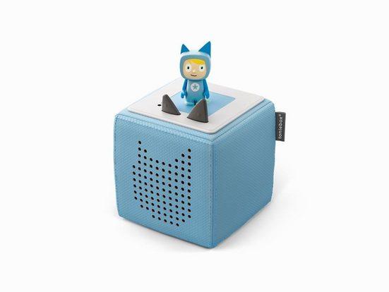 tonies tonies® Toniebox Starterset Blau (Kreativ-Tonie) Lautsprecher (WLAN (Wifi)
