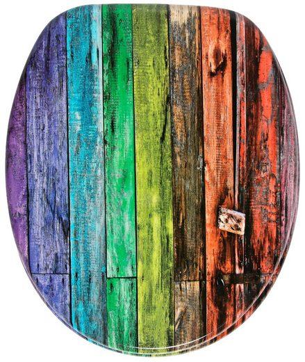 Sanilo WC-Sitz »Rainbow«, mit Absenkautomatik