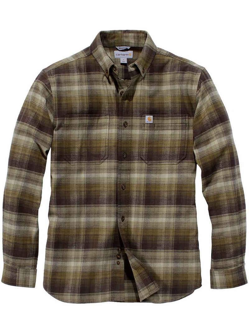 Carhartt Langarmhemd »Carhartt Langarmhemd olive« US Kleidergrößen