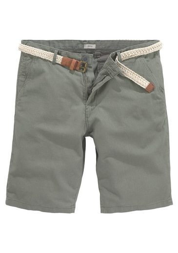 Esprit Shorts mit Gürtel