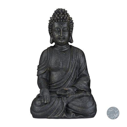 relaxdays Buddhafigur »Buddha Figur sitzend 40 cm«