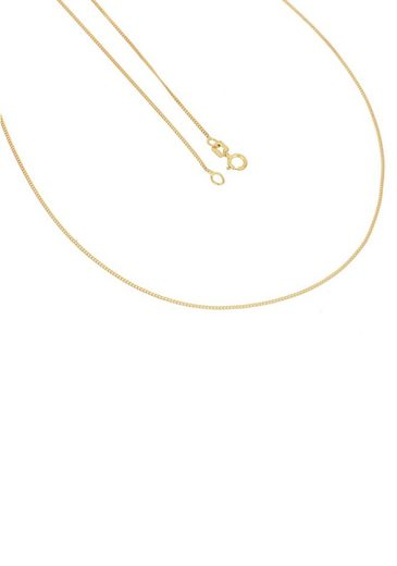 Firetti Goldkette »Feine Panzerkettengliederung, 0,85 mm breit, diamantiert«