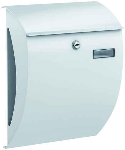 BASI Briefkasten »BK 2000«, Mit integriertem Zeitungsfach