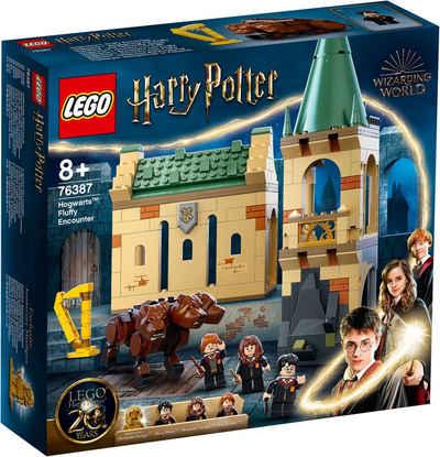 LEGO® Konstruktionsspielsteine »Hogwarts™: Begegnung mit Fluffy (76387), LEGO® Harry Potter™«, (397 St), Made in Europe