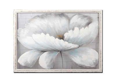NTK-Collection Wandbild »Wandbild Weiße Blüte«, Blüte (1 Stück), Wandbild