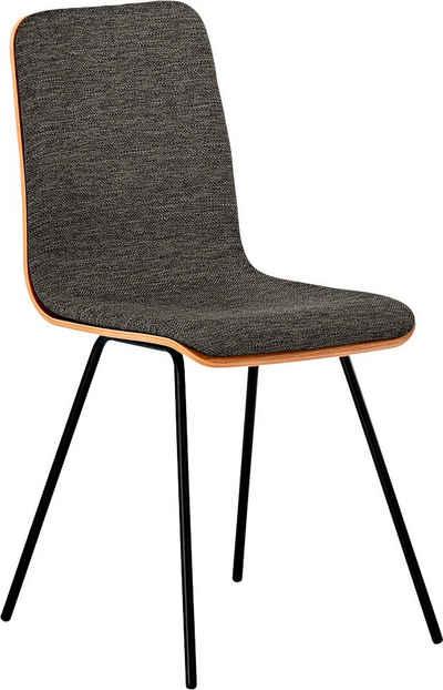 Mayer Sitzmöbel 4-Fußstuhl »Stuhl myTILDA«, Mit Eichefunier und Polsterung