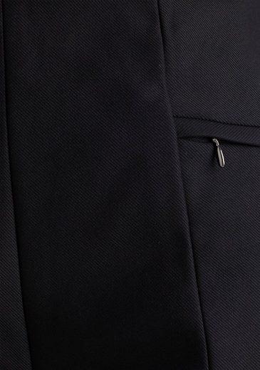 Esprit Collection Anzughose mit Ziernähten vorne am Bein